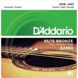 D'ADDARIO EZ890 - струны для акустической гитары
