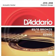 D'ADDARIO EZ930 - струны для акустической гитары