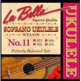 LA BELLA Ukulele 11 - струны для укулеле сопрано