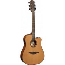 LAG T200D12CE - 12-струнная электроакустическая гитара