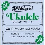 D'ADDARIO EJ87S - струны для укулеле сопрано