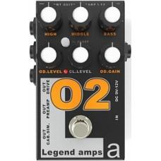 AMT Electronics O-2 Legend Amps 2 - двухканальный гитарный предусилитель