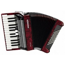 Hohner A4053 (A1653) BRAVO II 48 Red - аккордеон