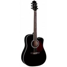 Naranda DG220CBK - акустическая гитара с вырезом