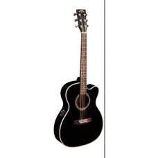 SIGMA 000MC-1STE-BK - гитара электроакустическая