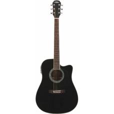 Aria AD-18CE BK - гитара электро-акустическая