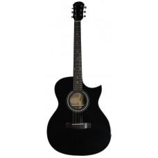 Aria-201CE BK - гитара электроакустическая