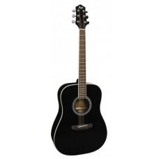 FLIGHT D-200 BK - акустическая гитара