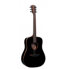 LAG T100D-BLK - акустическая гитара