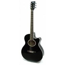 HOMAGE LF-401C-B - фольковая гитара с вырезом