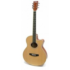 HOMAGE LF-401C-N - фольковая гитара с вырезом