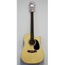 HOMAGE LF-4121C - акустическая гитара с вырезом