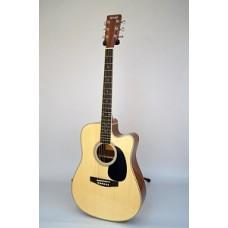HOMAGE LF-4121CEQ - электроакустическая гитара с вырезом