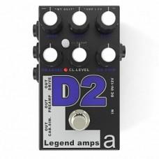 AMT Electronics D-2 Legend Amps 2 - двухканальный гитарный предусилитель