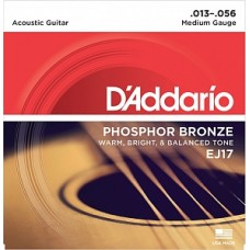 D`Addario EJ17 PHOSPHOR BRONZE - струны для акустической гитары
