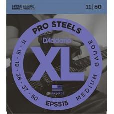 D'Addario EPS515 ProSteels - комплект струн для электрогитары