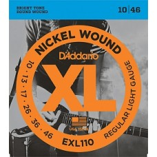 D`Addario EXL110 XL NICKEL WOUND - струны для электрогитары