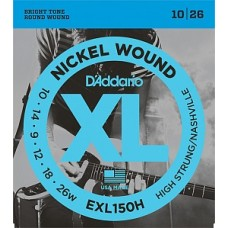 D'Addario EXL150H Nickel Wound - комплект струн для электрогитары