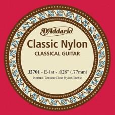 D'Addario J2701 Classical - отдельная 1-ая струна (нейлон)