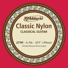 D'Addario J2705 Classical - отдельная 5-ая струна (нейлон)