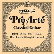 D'Addario J4604 Pro-Arte - отдельная 4-ая струна (нейлон)