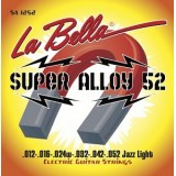 La Bella SA1252 Super Alloy 52 - комплект струн для электрогитары