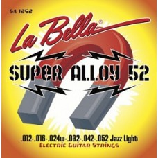 La Bella SA1252 Super Alloy 52 - комплект струн для электрогитары