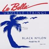 La Bella 15-BLACK - комплект струн для укулеле