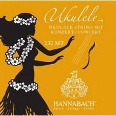 Hannabach 232MT - комплект струн для укулеле концерт