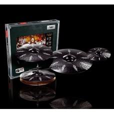 Paiste 000087JJHS Black Alpha Hyper - комплект тарелок (10/14/16/20)