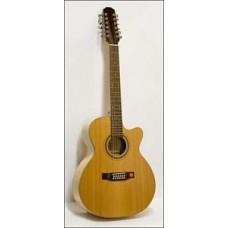 Strunal JC980 - акустическая гитара 12-струнная с вырезом