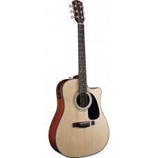 FENDER CD-140SCE DREADNOUGHT NATURAL - электроакустическая гитара