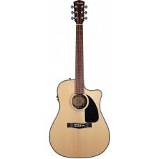 FENDER CD-100CE DREADNOUGHT NATURAL - электроакустическая гитара
