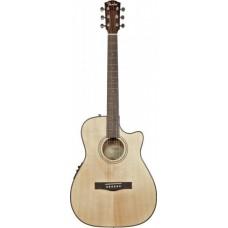 FENDER CF-140SCE FOLK NATURAL - электроакустическая гитара