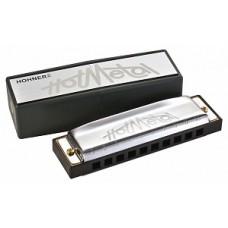 Hohner M57201x Hot Metal С-major - диатоническая губная гармошка