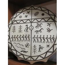 Бубен шаманский (круг) - 50 см