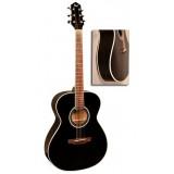 FLIGHT AG-210 BK - акустическая гитара