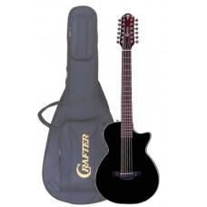 CRAFTER CT-120-12/EQBK - гитара 12-струнная электроакустическая