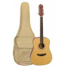 FLIGHT D-200/12 - 12-струнная акустическая гитара
