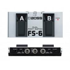 BOSS FS-6 - педаль-переключатель (двойная)