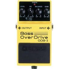 BOSS ODB-3 Overdrive - педаль эффектов для бас-гитары