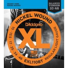 D'ADDARIO EXL110BT Regular Light 10-46 - комплект струн для электрогитары