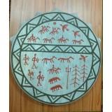 Бубен шаманский (круг) - 40 см