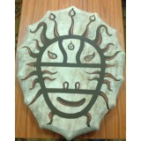 Бубен шаманский (маска) - 40 см