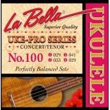 La Bella 100 Uke-Pro - комплект струн для укулеле концерт (тенор)
