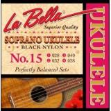 LA BELLA Ukulele 15 - струны для укулеле сопрано