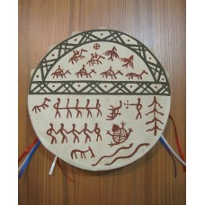 Бубен шаманский - 15 см
