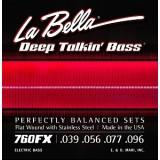 La Bella 760FX - струны для 4-струнной бас-гитары