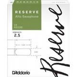 RICO DJR1025 Reserve - трости для саксофона альт №2,5