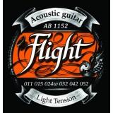 FLIGHT AB1152 - струны для акустической гитары